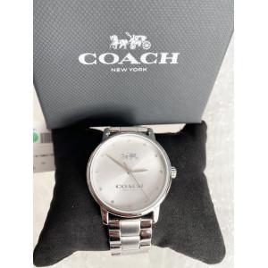 COACH GRAND WOMEN'S WATCH 14502926 (SILVER/METAL STRAP)