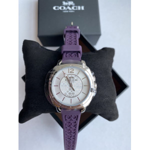 COACH WOMEN BOYFRIEND WATCH (PURPLE STRAP) 14503144