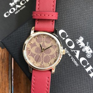COACH LADIES WATCH 14503401 (RED)