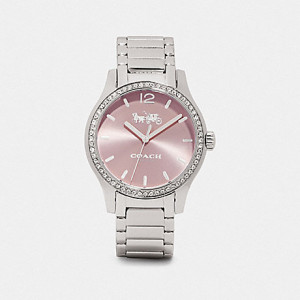 COACH MADDY WATCH, 37MM (STAINLESS STEEL) 14503416