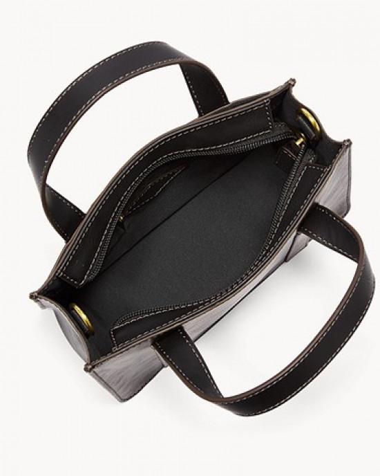 FOSSIL Maisie Mini Satchel (Black)