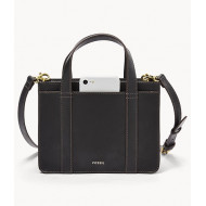 FOSSIL Maisie Mini Satchel (Black)