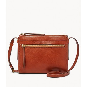 FOSSIL Felicity Crossbody (MEDIUM BROWN)