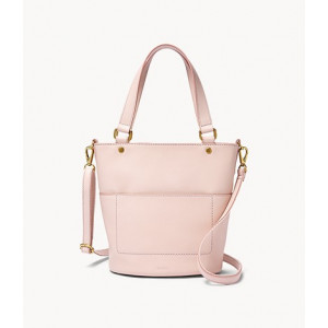 FOSSIL Amelia Small Bucket Bag (PASTEL PINK)