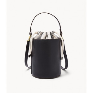 FOSSIL Courtney Bucket Bag (BLACK)