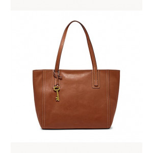 FOSSIL Emma Tote (BROWN)