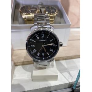 FOSSIL Rhett Quartz Black Dial Men's Watch (BQ1010)