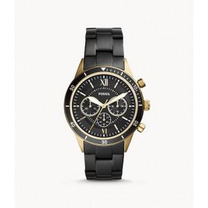 FOSSIL Flynn Sport Chronograph Black Stainless Steel Watch (BQ2258)