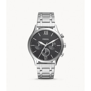 FOSSIL Fenmore Midsize Multifunction Stainless Steel Watch (BQ2406)