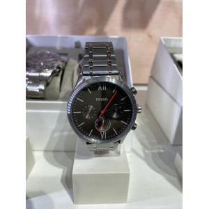 FOSSIL Fenmore Midsize Multifunction Smoke Stainless Steel Watch (BQ2408)