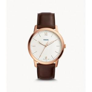 FOSSIL The Minimalist Three-Hand Java Leather Watch (FS5463)