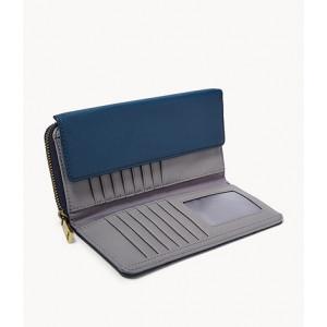 FOSSIL Jori RFID Flap Clutch (TWILGHT)
