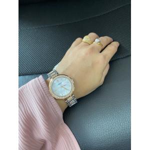 FOSSIL Karli Three-Hand Two-Tone Stainless Steel Watch (BQ3337)