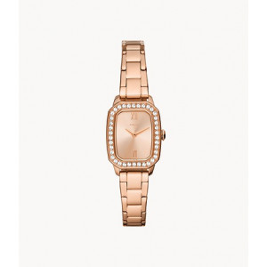 FOSSIL Rilynn Two-Hand Rose Gold-Tone Stainless Steel Watch (BQ3670)