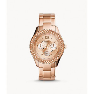 FOSSIL Stella Multifunction Rose-Tone Stainless Steel Watch (ES3590)
