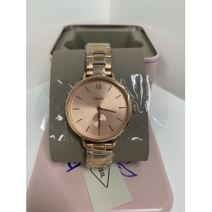 FOSSIL Kayla Three-Hand Rose Gold-Tone Stainless Steel Watch (ES4571)