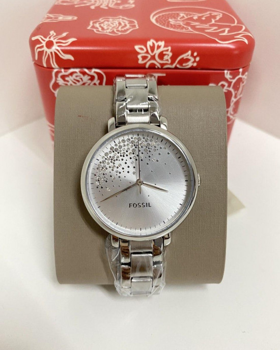 FOSSIL Jacqueline Three-Hand Stainless-Steel Watch (ES4776)