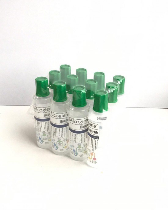 ALCOGIENE SANITIZER WITH 75% PROPYL ALCOHOL 50ML X 12 BOTTLE (FREE SHIPPING)