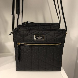 KATE SPADE DESSI WILSON ROAD QUILTED (BLACK)