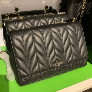 KATE SPADE BRIAR LANE QUILTED EMELYN (BLACK)