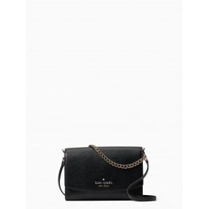 KATE SPADE CARSON CONVIRTIBLE CROSSBODY (BLACK)