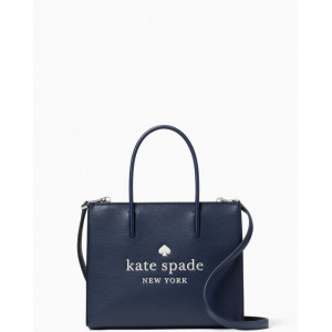KATE SPADE TRISTA LEATHER SHOPPER (NIGHT CAP)