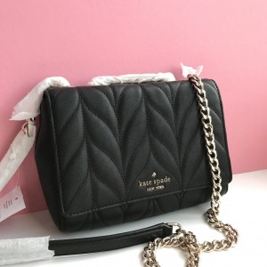 KATE SPADE BRIAR LANE QUILTED MINI EMELYN (BLACK)