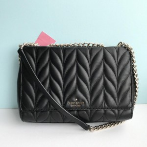 KATE SPADE BRIAR LANE QUILTED EMELYN (BLACK) - ETA MALAYSIA 16 JULY
