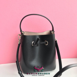 KATE SPADE EVA SMALL BUCKET (BLACK/WARMBEIGE)
