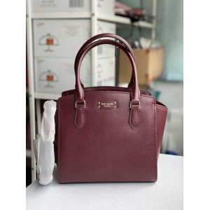 KATE SPADE JEANNE SMALL SATCHEL (CHERRYWOOD)