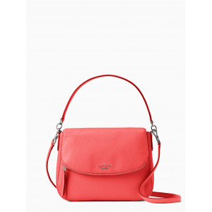 KATE SPADE JACKSON MEDIUM FLAP SHOULDER BAG (STOPLIGHT)
