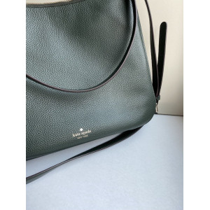 KATE SPADE KAILEE MEDIUM DOUBLE COMPARTMENT SHOULDER BAG (DEEP EVER GREEN)