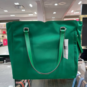 KATE SPADE JAE MEDIUM SATCHEL (GREEN BEAN)