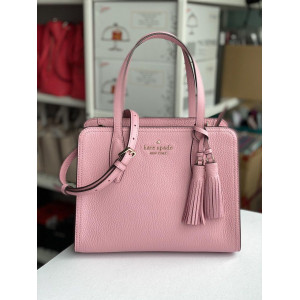 KATE SPADE ROWE SMALL TOP ZIP SATCHEL (BRIGHTCARNATION)