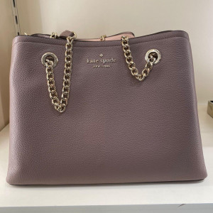 KATE SPADE JORDYN MEDIUM CHAIN HANDLE TOTE (DUSK CITY SCAPE) - ETA (ESTIMATED TIME ARRIVAL) MALAYSIA 26TH OCTOBER