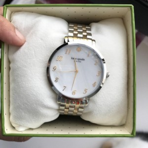 KATE SPADE MONTEREY TWO TONE WATCH