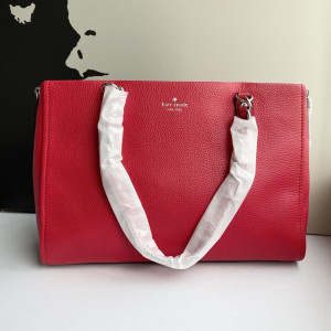 KATE SPADE COBBLE HILL ANDEE TOTE (HOT CHILLI)