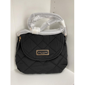 MARC JACBOS MEDIUM QUILTED NYLON (BLACK)