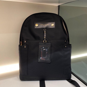 MARC JACOBS PREPPY NYLON BACKPACK (BLACK)