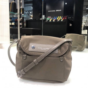 PRE ORDER - MARC JACOBS PREPPY NYLON MINI NATASHA CROSSBODY (QUARTZ GREY)