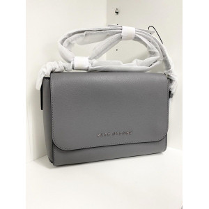 MARC JACOBS THE COMMUTER MEDIUM CROSSBODY BAG (SHADEY GREY)
