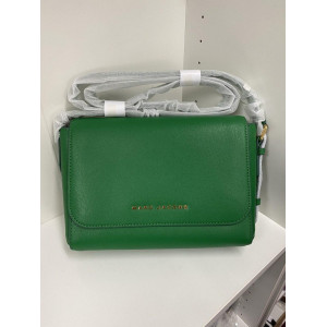 MARC JACOBS THE COMMUTER MEDIUM CROSSBODY BAG (PEPPER GREEN)