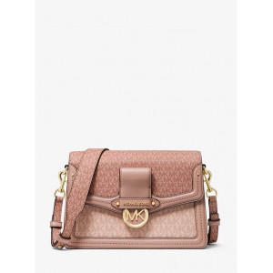 MICHAEL KORS JESSIE MEDIUM TWO TONE LOGO SHOULDER BAG - ETA (ESTIMATED TIME ARRIVAL) MALAYSIA 9 FEBRUARY