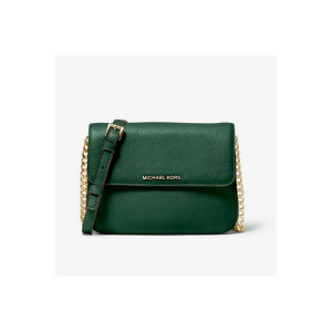 MICHAEL KORS BEDFORD PEBBLED LEATHER CROSSBODY (MOSS)