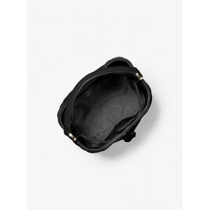 MICHAEL KORS SURI SMALL QUILTED CROSSBODY BAG (BLACK)