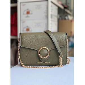 MICHAEL KORS WANDA SMALL CROSSBODY LEATHER (DUFFLE)