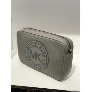 MICHAEL KORS FULTON SPORT LARGE EW CROSSBODY (GREY)