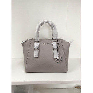 MICHAEL KORS CIARA MEDIUM MESSENGER (GREY)