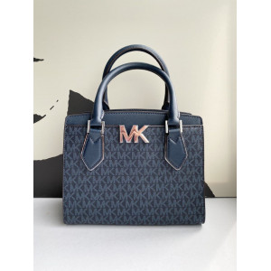 MICHAEL KORS MOTT MEDIUM MESSENGER (ADMIRAL)