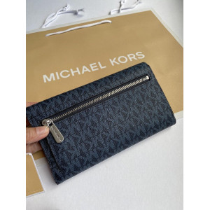 MICHAEL KORS JET SET TRAVEL LARGE TRIFOLD (ADMIRAL)